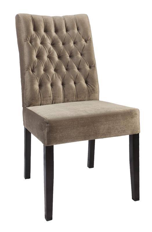 stuhl salida hohe rug knopf ohne armlehne. Black Bedroom Furniture Sets. Home Design Ideas