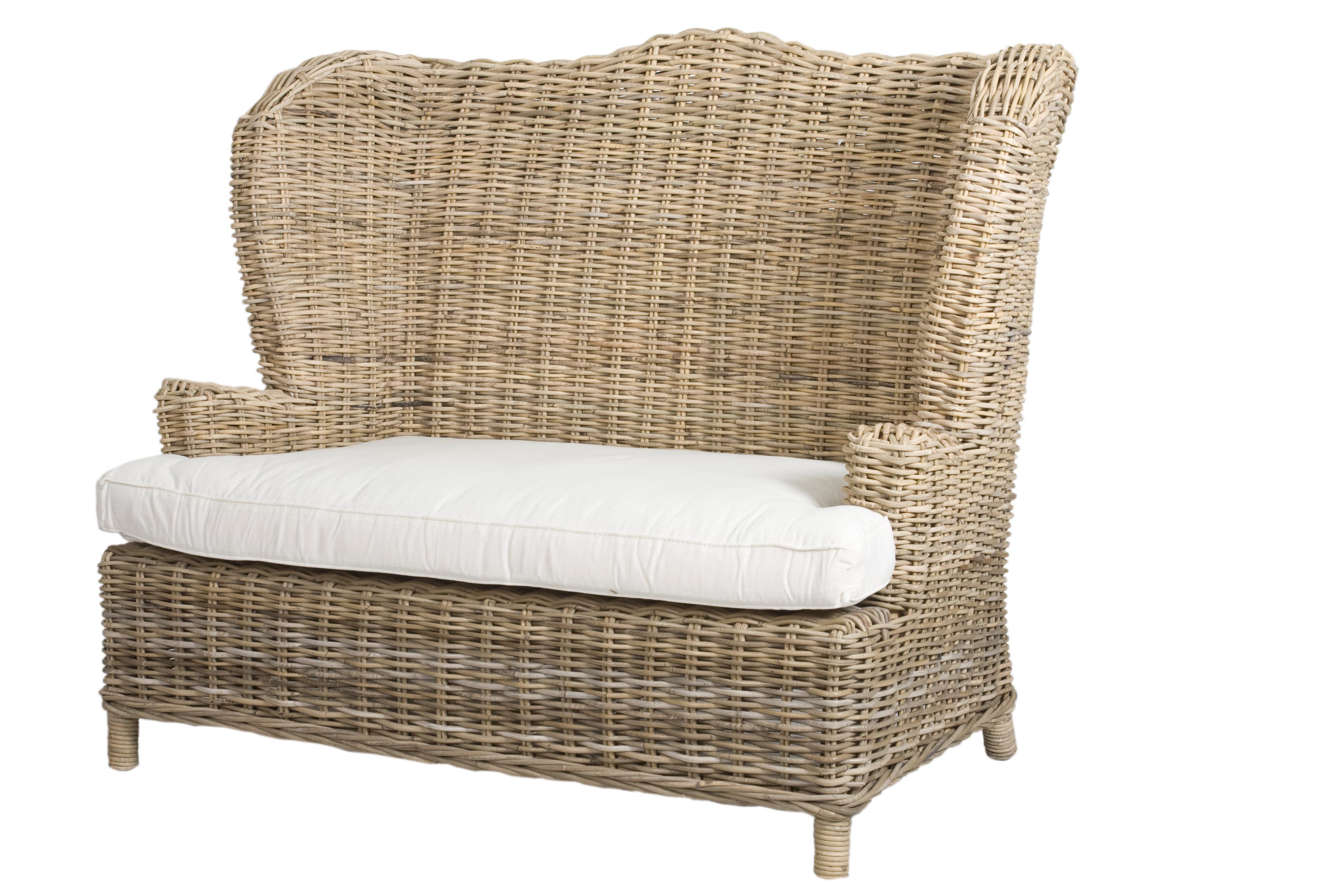 breiter sessel rattan tennessee inklusive kissen. Black Bedroom Furniture Sets. Home Design Ideas