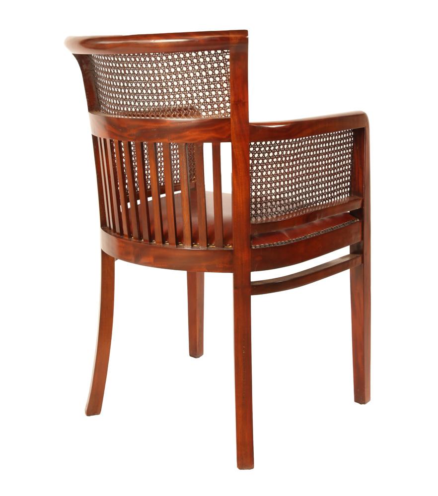 Stoel boston webbing met armleuning leder 2 rofra home meubelen en interieur accessoires - Kitchenette met stoelen ...