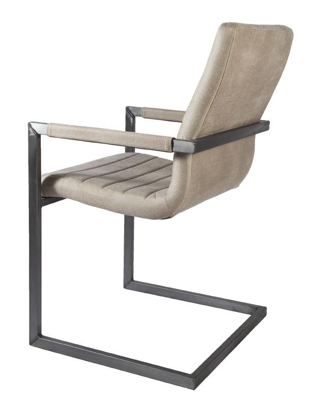 sessel industrial wave firence eco leder biscuit. Black Bedroom Furniture Sets. Home Design Ideas